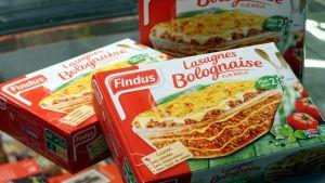Fransk lasagne innehåller höstkött