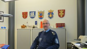 Biträdande polischef Hans Snellman i Jakobstad