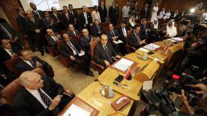 Arabförbundets möte i Kairo 27.8.2011