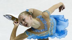 Juulia Turkkila vid EM 2013.