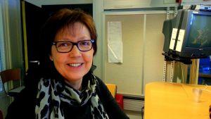 Monica Johnson, verksamhetsledare för Musikfestspelen Korsholm