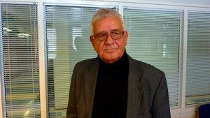 Lars Kärkinen, ordförande för Jägarförbundets Svenska Österbottens distrikt