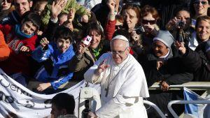 Påven Franciskus tillträdde sitt ämbete 19.03.2013