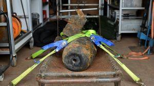 En bomb från andra världskriget hittades i Berlin