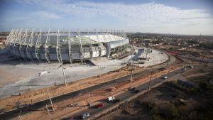 Arena Castelao i Fortaleza är en av VM-arenorna 2014.