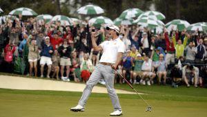 Adam Scott vann US Masters 2013.