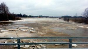 Kyro älv från Skatila bro
