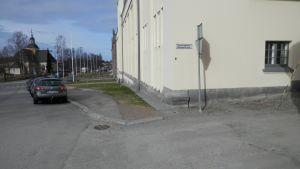 Platsen där sju personer avrättades i Jakobstad 1918