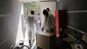 Tvätt av möbler vid mögelsanering