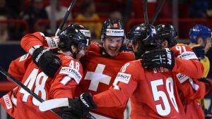 Schweiz skrällde mot Sverige