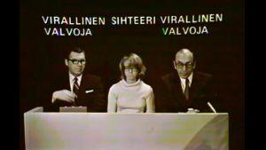 Lottodragning 1978.