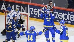 Finland-Sverige, VM-semifinal 2013