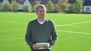Per Högström, chef för idrottstjänsterna i Borgå stad
