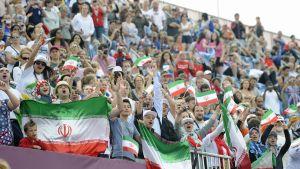 Iranska fotbollsfans, OS i London 2012