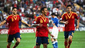 Thiago Alcantara, U21 EM-final, Spanien-Italien, juni 2013