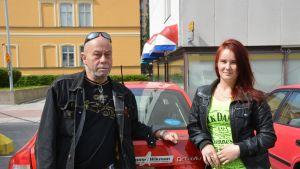 Harry Mäenpää och Camilla Waxlax