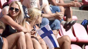 Publik på U23-EM i friidrott i Tammerfors, juli 2013