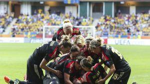 Tyskland-Sverige, semifinal 2013