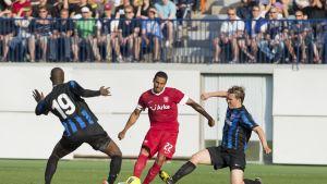 Babacar Diallo och Ari Nyman, FC Inter-Twente 2012