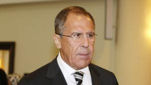 Rysslands utrikesminister Sergej Lavrov