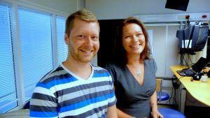 Kim Sandvad West och Ann-Maj Björkell-Holm