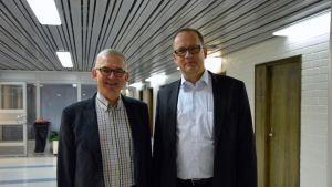 Thomas Öhman och Tomas Häyry.