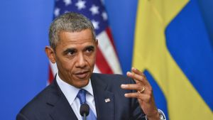 Omvärlden kan inte tiga om kemvapenattacken i Syrien, sade USA:s president Barack Obama
