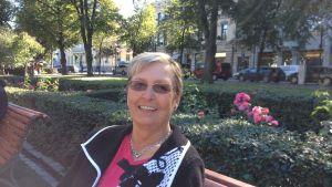 Företrädare Maija Björkulnd från Oravais