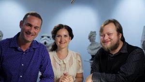 Stefan Brunow, Pia-Maria Lehtola och Lauri Maijala