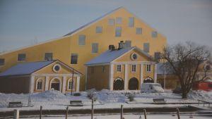 Roope Elojärvis vision av Dalsbruk och ett nytt ämbetshus.