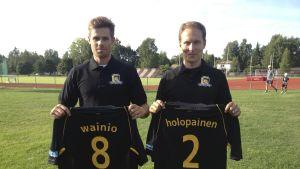 Wilhelm Waino och Janne Holopainen är nya Knights.