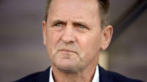 IFK Mariehamns tränare Pekka Lyyski kan vara stolt över sina adepter efter matchen mot Jaro.