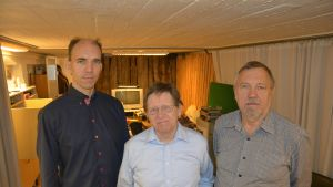 Oscar Signell, Butti Ljungqvist och Leif Stenwall