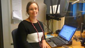 Sofia Grynngärds chattade om hushållsfrågor