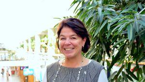 Silja Paavola, ordförande för Finlands närvårdar- och primärskötarförbund SuPer