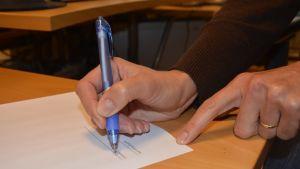 Underskrift på avtal