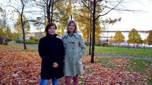 Annika Sillander och Norah Nelson