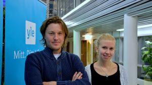 Andreas Westerberg och Jonna Granqvist