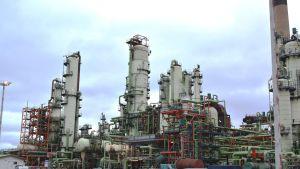 neste oils raffinaderi i sköldvik i borgå