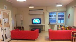 Tv-rum i Harjulinna