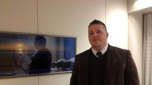 Direktör Mathias Lindström på Kvarkenrådet