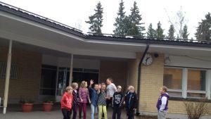 Taklax skola i Korsnäs