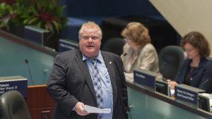 Torontos borgmästare Rob Ford