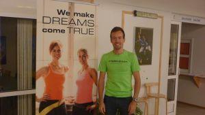 Joakim Träskelin, idrottsproducent på Folkhälsan utbildning