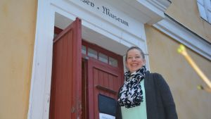 Museichef Emi ingo i Fiskars.