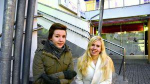 Sofia Sundholm och Jonna Granqvist
