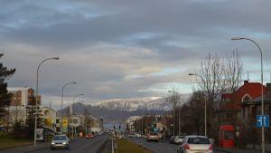 Reykjavik i oktober 2013