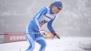 Anne Kyllönen, Tour de Ski 2013