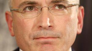 Michail Chodorkovskij i Berlin efter benådningen