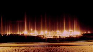 Ljuspelare i Sköldvik
